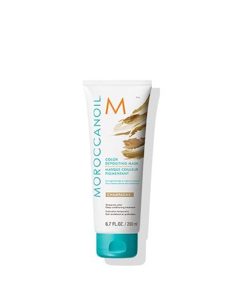 Moroccanoil Color Depositing Mask  CHAMPAGNE 200ml /Oцветяваща маска за коса, придаваща златист цвят