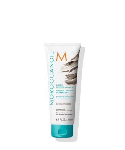 Moroccanoil Color Depositing Mask Platinum 200ml /Oцветяваща маска за коса, придаваща сив цвят