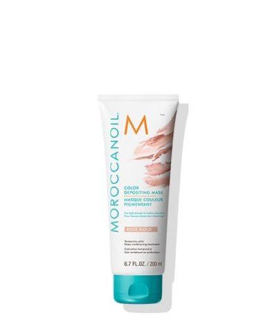 Moroccanoil Color Depositing Masк Rose Gold 200ml  / Oцветяваща маска за коса, придаваща розово-златен нюанс.