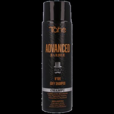 Nº104 GREY SHAMPOO 300 ml advanced barber - Шампоан за сива, бяла или изсветлена коса