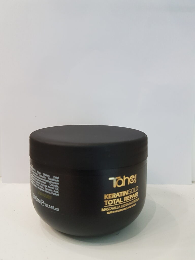 KERATIN GOLD TOTAL REPAIR MASK 300ML-Маска Ултра-подхранващ с кератин и течно злато ТАХЕ