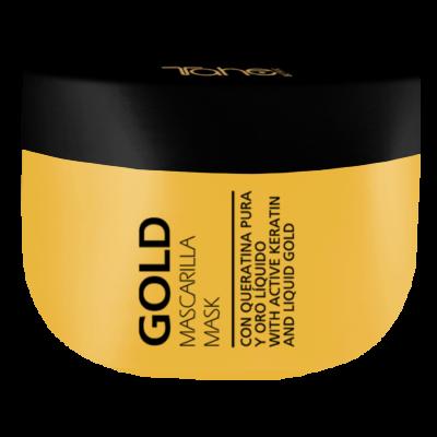 KERATIN GOLD MASK 300ml – Маска за коса с течно злато TAHE