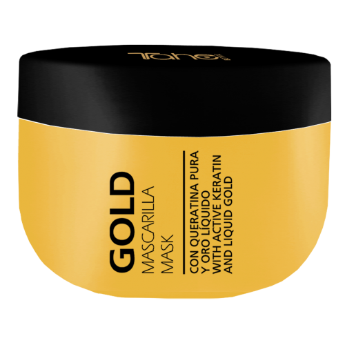 KERATIN GOLD MASK 300ml - Маска за коса с течно злато TAHE