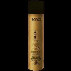 TAHE Strong hold spray Satin Keratin 400 ml / fixing-3 /– Силен фиксиращ спрей с Кератин и Сатен