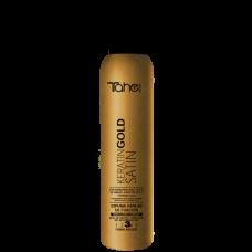 TAHE Fixing mousse Satin Keratin 300 ml – Стилизираща пяна с Кератин и Сатен