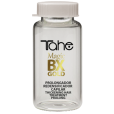 TAHE Magic BX Gold Ampouls 5×10 ml Thickening and nourishing hair treatment – Сгъстяваща и подхранваща терапия – Ампули