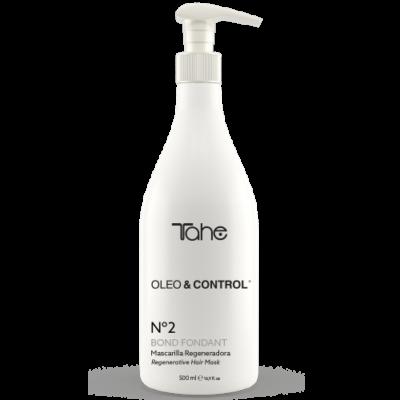TAHE OLEO+CONTROL 2 BOND FONDANT REGENERATIVE HAIR MASK 500ml-маска за коса