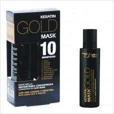 Keratin Gold Mask - Концентрирана маска за коса с течно злато и кератин 125мл
