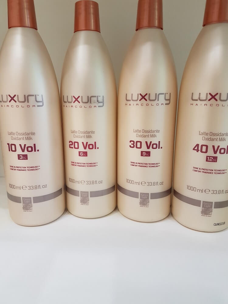Оксидант за коса Luxury в различни размери