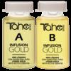 TAHE INFUSION GOLD A+B / 2x10ml / – Интензивно удебеляване, регенериране и подхранване на косата.