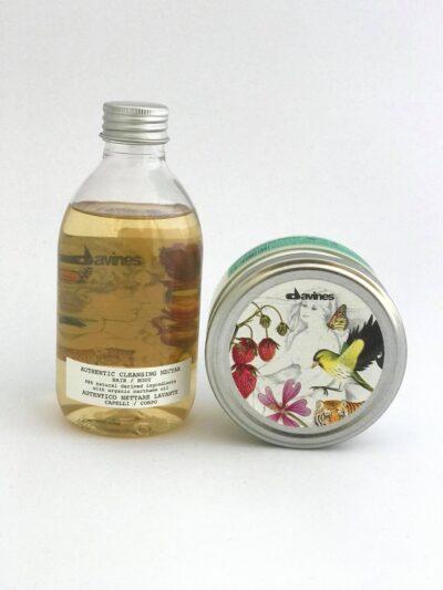 Davines Authentiс-Хидратиращ и Почистващ нектар за коса и тяло+ Подхранващо масло за лице, коса и тяло