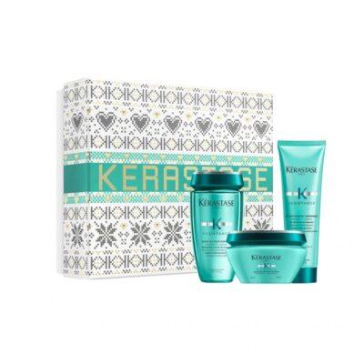 Kerastase Resistance-Коледен комплект за слаба и дълга коса + подарък