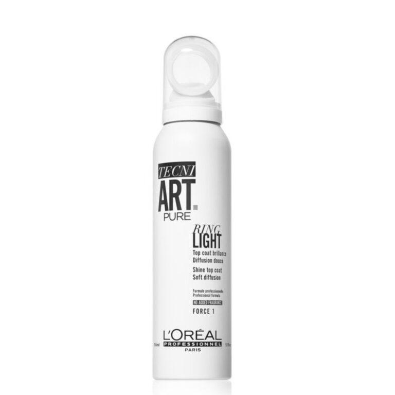 Loreal Tecni Art Ring Light-Спрей за подчертан блясък със слаба фиксация 150мл