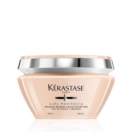Кerastase Curl Manifesto Masque Beurre Haute Nutrition Hair Mask-Подхранваща маска за къдрава коса 200мл