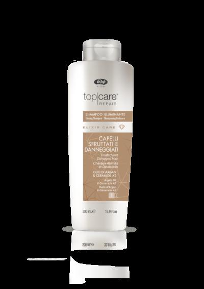 Elixir Care Shampoo- Шампоан за блясък за третирана и увредена коса 500мл