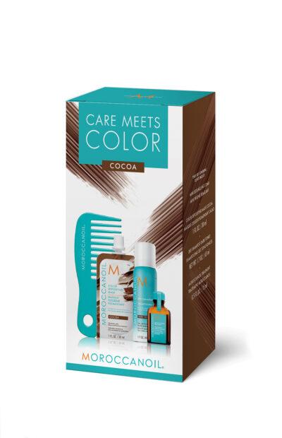 Moroccanoil Care Meets Color Cocoa-Комплект