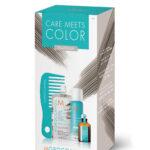 Moroccanoil Care Meets Color Platinum-Комплект